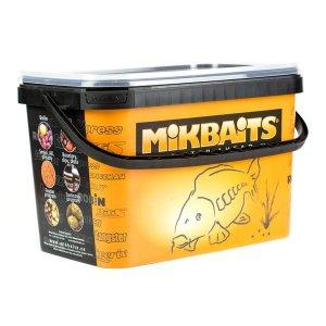 Mikbaits Trvanlivé boilie Robin Fish 2,5kg - Máslová hruška 16mm