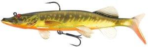 Fox Rage Gumová nástraha Replicant Realistic Pike 155g 25cm - Super Hot Pike