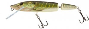 Salmo Wobler Pike Jointed Floating 13cm - Real Pike
