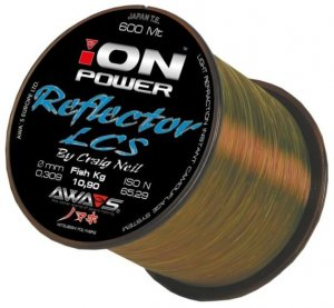 Awa-S Vlasec Ion Power Reflector Carp 600m - 0,25mm