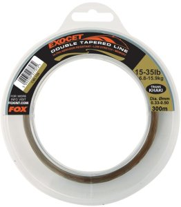Fox Vlasec Exocet Double Tapered Trans Khaki 300m - 0.30mm - 0.50mm
