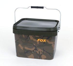 Fox Kbelík plastový Camo Square Bucket 10l