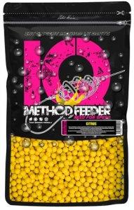 LK Baits Fluoro Boilie IQ Method Feeder 10-12mm 600g - Citrus