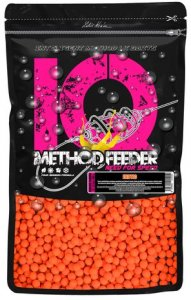 LK Baits Fluoro Boilie IQ Method Feeder 10-12mm 600g - Exotic