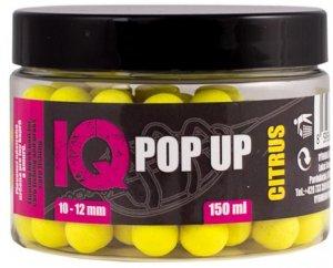 LK Baits Pop Up Fluoro Boilies IQ Method Feeder 10-12mm 150 ml - Citrus