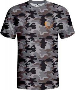 Savage Gear Triko Simply Savage Camo T-shirt - XXL