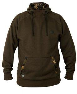 Fox Mikina s kapucí Chunk Dark Khaki / Camo hoodie - XXXL