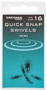 DRENNAN Rychlovýměnný obratlík Quick Snap Swivels vel. 16