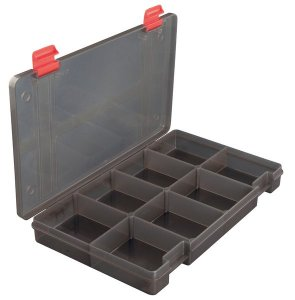 Fox Rage Krabička Stack and Store Lure 8 Compartment Shallow Box