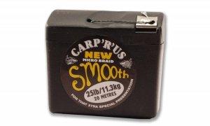 Carp ´R´ Us Návazcová šňůra Smooth Hooklink Braid 20m - 0,14mm, 15lb