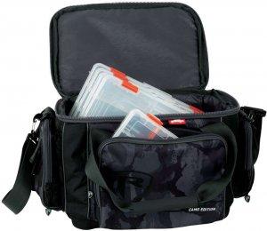 Fox Rage taška Voyager Camo Medium Carrybag Inc Boxe
