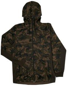 Fox Mikina Chunk Camo / Dark Khaki track hoodie - S