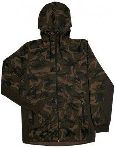 Fox Mikina Chunk Camo / Dark Khaki track hoodie - M