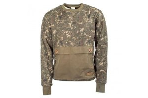 Nash Mikina ZT Camo Heavyweight Jumper - XL