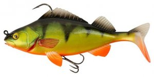 Fox Rage Gumová Nástraha Replicant Perch SN Hot Perch - 18cm 85g