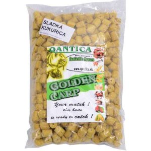 GOLDEN CARP Flesh pelety s dírou 3kg Sladká kukuřice