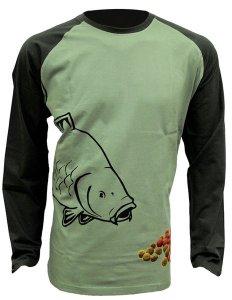 Zfish Tričko Boilie T-Shirt Long Sleeve - M