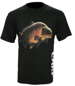 Zfish Tričko Carp T-Shirt Black - XL