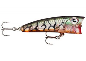 Rapala Wobler Ultra Light Pop Glass Lucent Tiger UV - 4cm 3g
