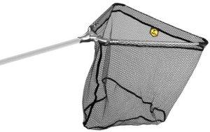 Delphin Podběrák kovový střed s pogumovanou síťkou - 60x60/170cm