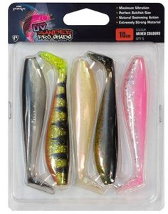 Fox Rage Gumová Nástraha Zander Pro Mixed UV Colour 5ks - 14cm