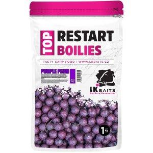 LK Baits Boilie TopRestart Purple Plum 1kg - 20mm