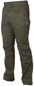 Fox Kalhoty Collection Green & Silver Combat Trousers - L