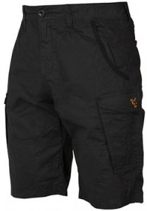 Fox Kraťasy Collection Black & Orange Combat Shorts - L