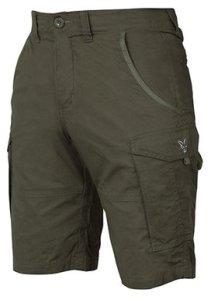 Fox Kraťasy Collection Green & Silver Combat Shorts - XXXL