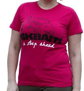 Mikbaits Dámské tričko červené Ladies team - M