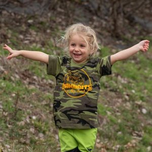 Mikbaits Dětské tričko camou - 3 - 6 let