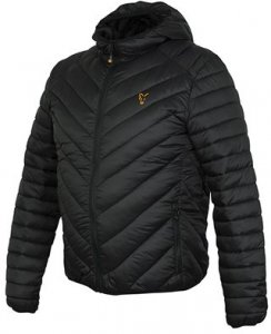 Fox Bunda Collection Quilted Jacket Black/Orange - L