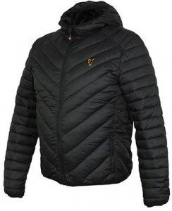 Fox Bunda Collection Quilted Jacket Black/Orange - XL