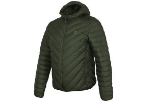 Fox Bunda Collection Quilted Jacket Green/Silver - M