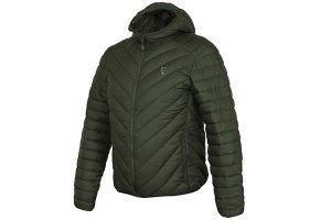 Fox Bunda Collection Quilted Jacket Green/Silver - XXXL