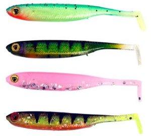 Fox Rage Gumová nástraha Micro Tiddler Fast UV Mixed colour 5cm 8ks