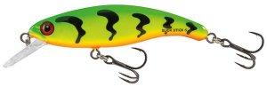 Salmo Wobler Slick Stick Floating Green Tiger - 6cm 3g