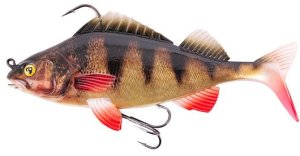 Fox Rage Gumová Nástraha Replicant SN Perch - 18cm 85g