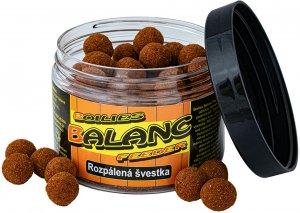 Boilies Balanc Feeder - 80 g/12 mm/Rozpálená švestka