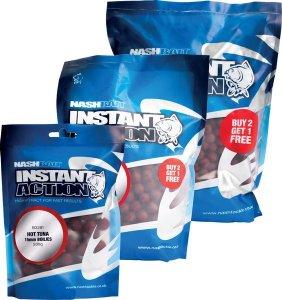 Nash Boilie Instant Action Hot Tuna - 15mm 1kg