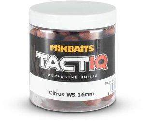 Mikbaits Rozpustné boilie TactiQ Citrus WS 250ml - 20mm