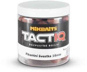 Mikbaits Rozpustné boilie TactiQ Pikantní švestka 250ml - 16mm
