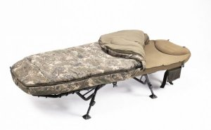 Nash Lehátko MF60 Indulgence 5 Season Sleep System Compact