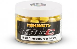 Mikbaits Boilie pop-up BigC Cheeseburger 150ml - 18mm