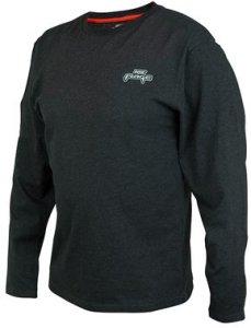 Fox Rage Triko Black Marl Tee Long Sleeve - S