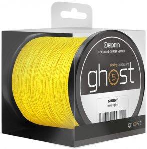 Delphin GHOST 4+1 / žlutá - 0,23mm 30lbs 300m