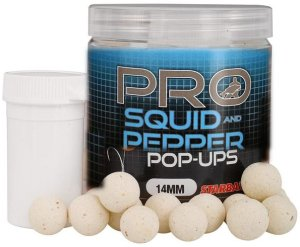 Starbaits Plovoucí boilies Probiotic Squid & Pepper 60g - 14mm