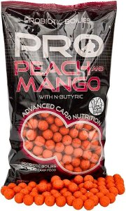 Starbaits Boilie Probiotic Peach & Mango - 20mm 1kg