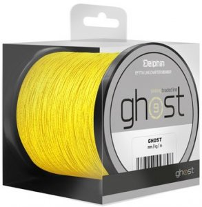 Delphin Šňůra Ghost 8+1 žlutá - 0,18mm 20lbs 600m