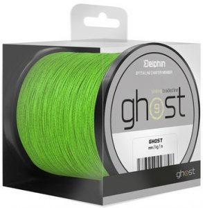 Delphin Šňůra Ghost 8+1 zelená - 0,23mm 30lbs 600m